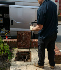 Drain clearance in Maidstone and Coxheath
